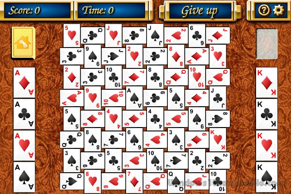 Crazy Quilt Solitaire Game